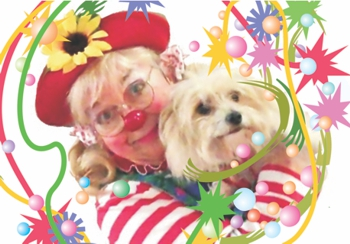 Clown Shobi and her Therapy Pet Jodi